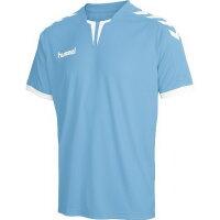 Hummel Herren-Trikot Core Ss Poly Jersey argentina blue...