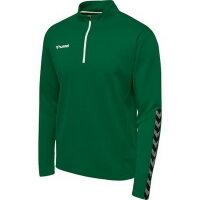 Hummel Herren-Sweatshirt hmlAuthentic Half Zip Sweat 204927