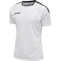 Hummel Herren-Trikot hmlAuthentic Poly Jersey S/s white XXL