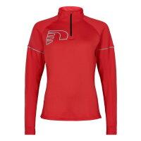 Newline Damen-Laufshirt Core 1/2 Zip Neck Thermo Shirt...