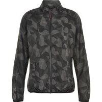 Newline Damen-Laufjacke Black Camo Windshield Jacket...