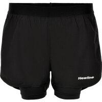 Newline Damen-Laufshorts 2-Lay Shorts Woman 070476